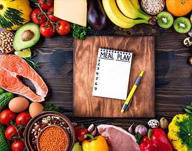 Прясно месо и зеленчуци