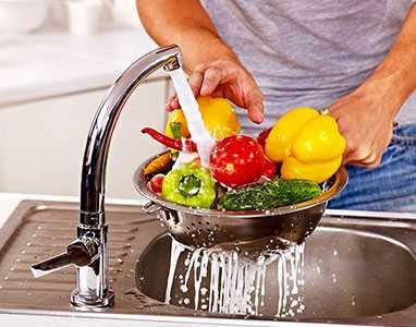Миене на плодове и зеленчуци