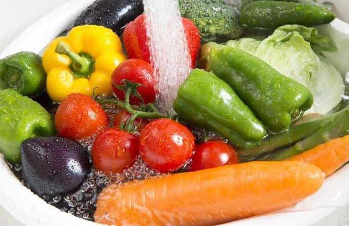 Накисване на плодове и зеленчуци