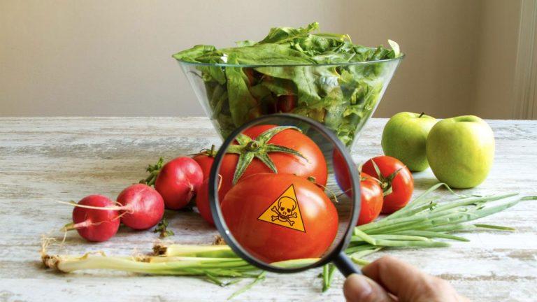 Пестициди в плодовете и зеленчуците